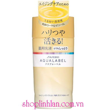 Shisedo Aqualabel Emulsion EX