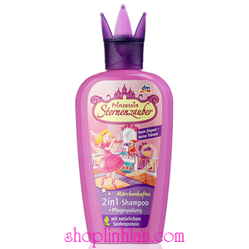 Gội, xả 2 trong 1 Prinzessin Sternenzauber - 200ml