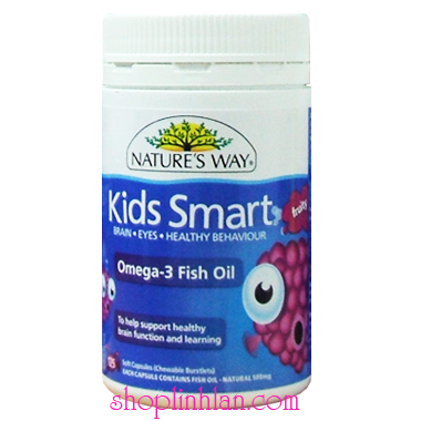 Kids Mart Omega 3 Fish Oil - 125 viên