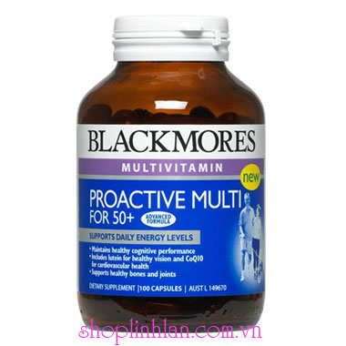 Blackmores Proactive Multi for 50+ 100v