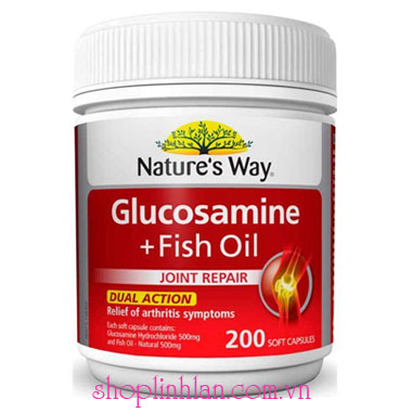 Nature's Way Glucosamin Fish Oil - 200 viên
