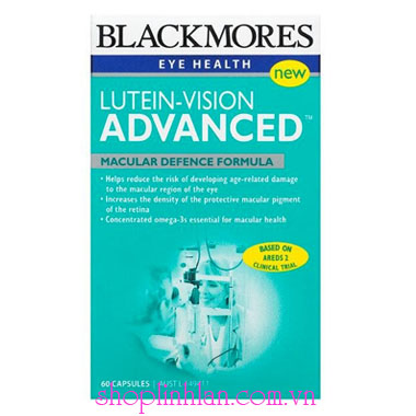 Blackmores Lutein Vision Advanced - 60 viên
