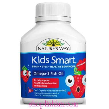 Kids Mart Omega 3 Fish Oil - 50 viên